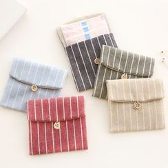 Cute Essentials - Striped Sanitary Pad Pouch