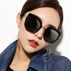 Biu Style - Chunky-Frame Sunglasses