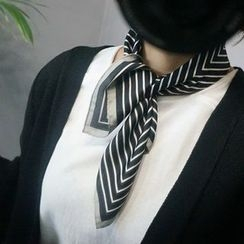 STYLEBYYAM - Stripe Patterned Scarf