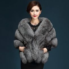 KOTEN - Faux Fur Cape