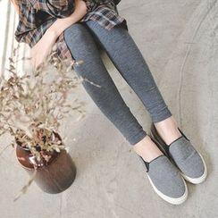 JUSTONE - Brushed-Fleece Lined Leggings