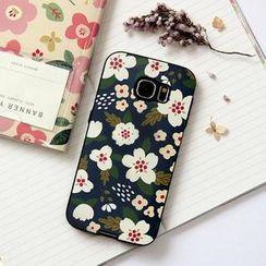 BABOSARANG - Floral Print Samsung Galaxy S6 Case