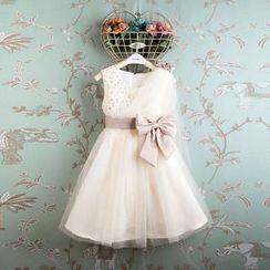 Kidora - 小童亮片薄纱连衣裙