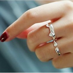 MOMENT OF LOVE - Cat 925 Sterling Silver Ring