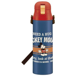 Skater - Mickey Mouse Stainless Water Bottle 1.0L