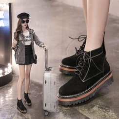 Banaba - Platform Short Boots