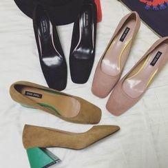 QQ Trend - 撞色高跟鞋