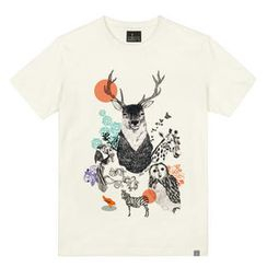 the shirts - Illustrated Animals Print T-Shirt