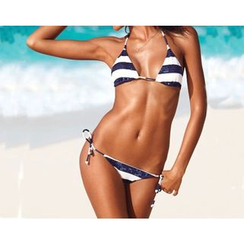 Rivergirl - Sequined Stripe Bikini