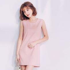 Tokyo Fashion - Sleeveless Plain Dress