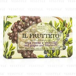 Nesti Dante - Il Frutteto Illuminating Soap - Red Grapes and Blueberry