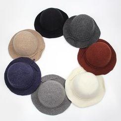 BADA - 羊毛大沿休闲保暖礼帽