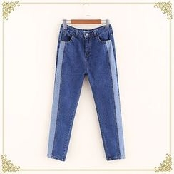 Fairyland - Color Panel Jeans
