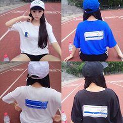 Melon Juice - Print Short-Sleeve T-Shirt