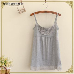 Maymaylu Dreams - Lace Panel Camisole Top