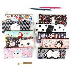 BABOSARANG - 'Choo Choo' Cat Series Slim Pencil Case