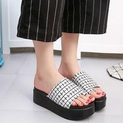 Chryse - Loop Toe Platform Sandals
