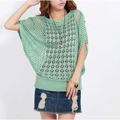 Penguin Island - Batwing Knit Cover-up