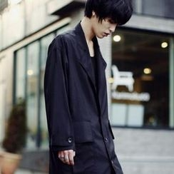 TOMONARI - Single Breasted Trench Coat