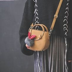 Secret Garden - Round Handle Crossbody Bag