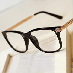 UnaHome Glasses - Metal Arm Square Glasses