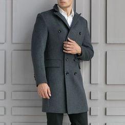 Cipher - 雙襟呢子大衣