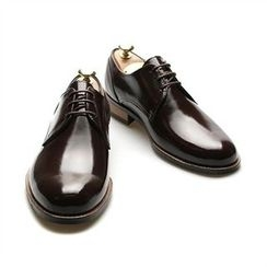 THE COVER - Genuine Leather Patent Oxfords