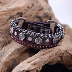 Trend Cool - Studded Layer Bracelet