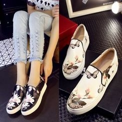 Kireina - Printed Slip-On Sneakers