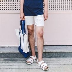 STYLEMAN - Colored Linen Shorts