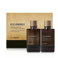 The Saem - Eco Energy Mild Skin Care Set: Toner 150ml + 30ml + Emulsion 150ml + 30ml