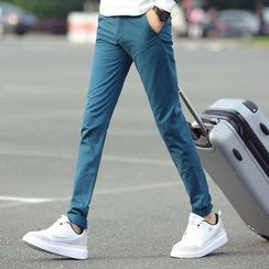 Gurun Vani - Plain Slim Fit Chino Pants
