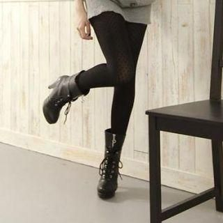 Lace-Up Platform Short Boots