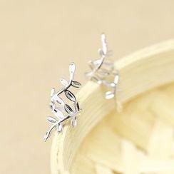 LoveGem - Leaf Single Earring