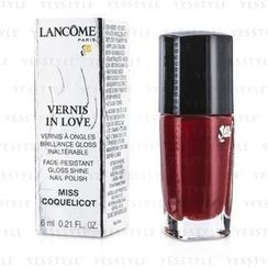 Lancome 兰蔲 - Vernis In Love Nail Polish - # 154M Miss Coquelicot