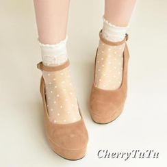 CherryTuTu - Polka Dot Sheer Socks