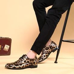 Hipsteria - Leopard Oxfords