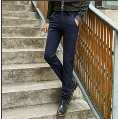 Consto - Straight Leg Dress Pants