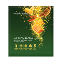 Nature Republic - Ginseng Royal Silk Gold Hydrogel Mask (10pcs)