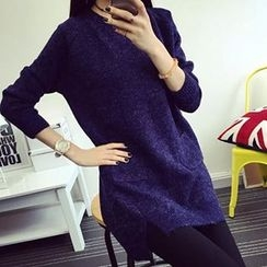 FR - Long Sleeve Long Sweater