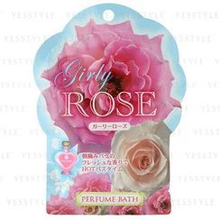 Kokubo - Rose Oil Bath Salts Series - Girly Rose (Sea Salt & Germanium)