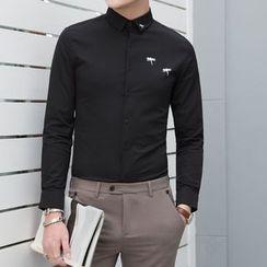 Orizzon - Long-Sleeve Print Shirt