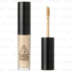3 CONCEPT EYES - Full Cover Concealer (#001 Natural Ivory)