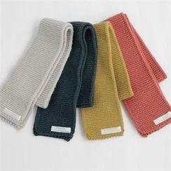 YOOM - Wool Blend Knit Scarf