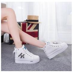 EUNICE - Hidden-Heel Platform Sneakers