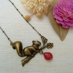 MyLittleThing - Forest Squirrel Necklace
