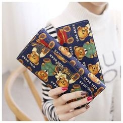 Rinka Doll - Bear Printed Long Wallet