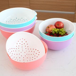 Lazy Corner - Soaking Bowl and Colander