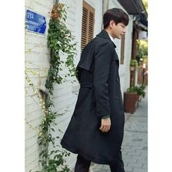 GERIO - Double-Breasted Trench Coat