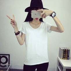 Sonnet Isle - 纯色短袖T恤